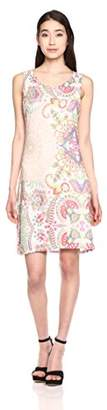 Desigual Women's Lagrima Valkiria Knitted Sleeveless Dress