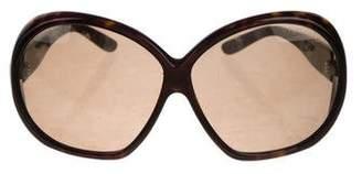 Tom Ford Natalia Oversize Sunglasses