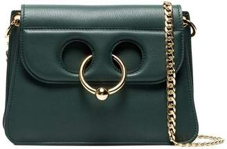 J.W.Anderson green Pierce Mini leather shoulder bag