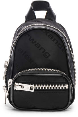 Alexander Wang Jacquard Logo Atticca Mini Backpack