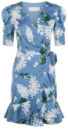 Keepsake The Label This Moment Floral Wrap Dress