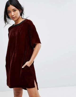 DKNY Velvet Half Sleeve Sleep Shirt