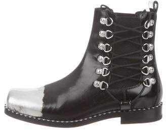 Loewe Chelsea Leather Ankle Boots