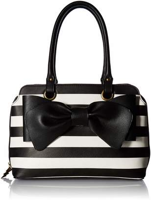 Betsey Johnson Pop Collar Satchel