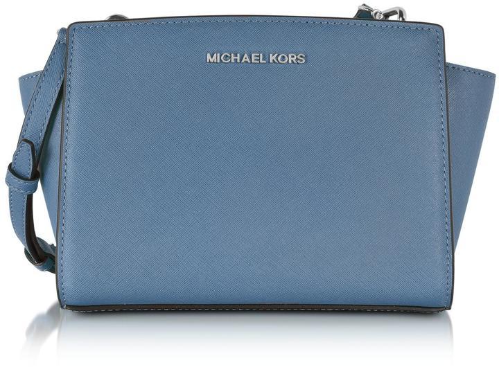 MICHAEL Michael KorsMichael Kors Selma Medium Saffiano Leather Messenger