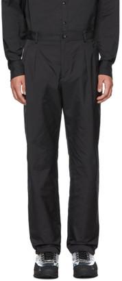 Valentino Black Virgin Wool Trousers