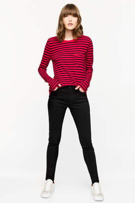 Zadig & Voltaire Reja Stripes t-shirt