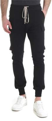 Rick Owens Black Cargo Trousers