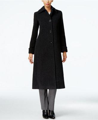 Jones New York Wool-Blend Maxi Coat $460 thestylecure.com