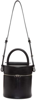 Building Block Black Drum Bucket Bag