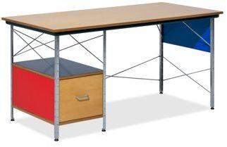 Eames® Left Hand File Drawer Desk Unit in Multicolor by Herman Miller®