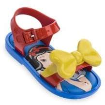 Mini Melissa Baby's, Little Girl's& Girl's Snow White Bow Sandals - Red Yellow - Size 9 (Toddler)