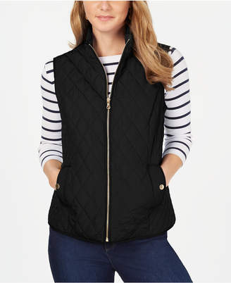 Charter Club Quilted Vest