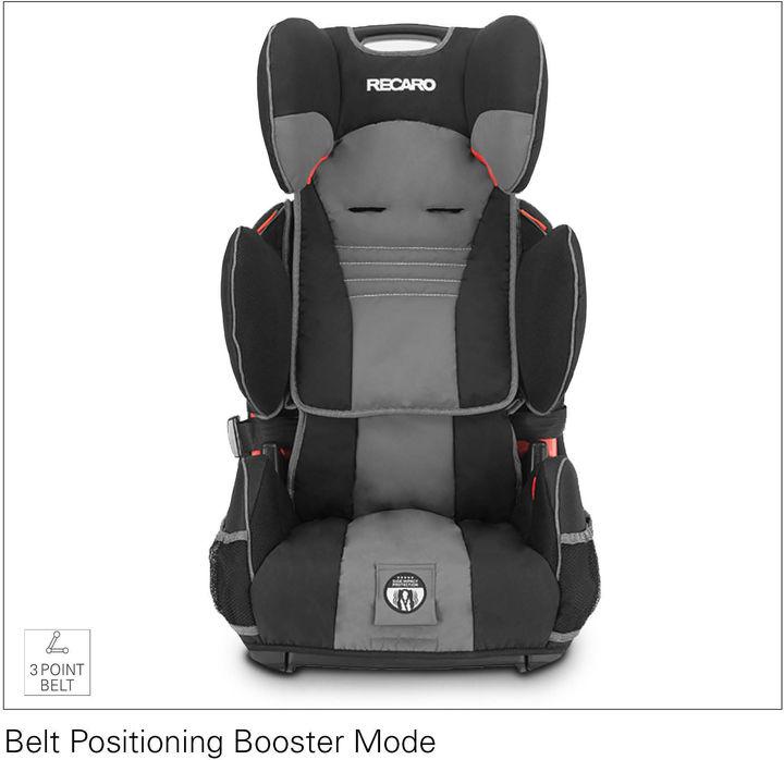 Recaro Performance Sport Harness Booster Car Seat - Slate