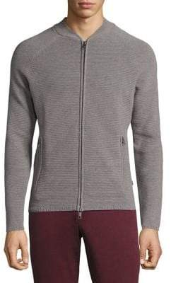 J. Lindeberg Trust Ribbed Zip Jacket