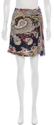 Just Cavalli Printed Mini Skirt