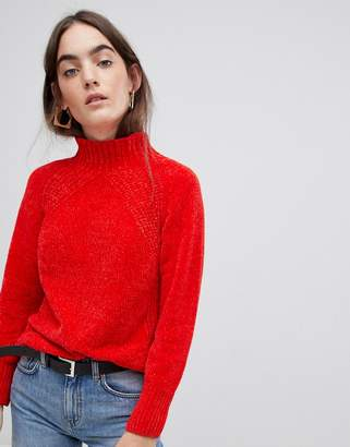 B.young high neck chenille jumper