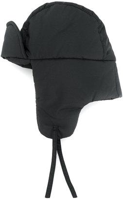 padded aviator hat