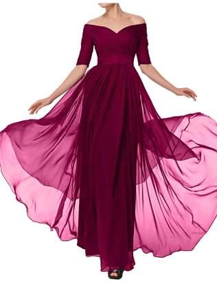 Glamorous Avril Dress Evening Dress Mother of Bride Half Sleeves Empire Bateau-US