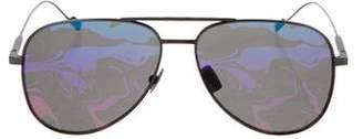 Saint Laurent 2018 Aviator Mirror Sunglasses