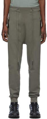 11 By Boris Bidjan Saberi Grey Drawstring Lounge Pants