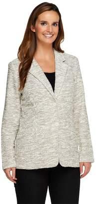 Liz Claiborne New York Boucle Blazer with Pockets