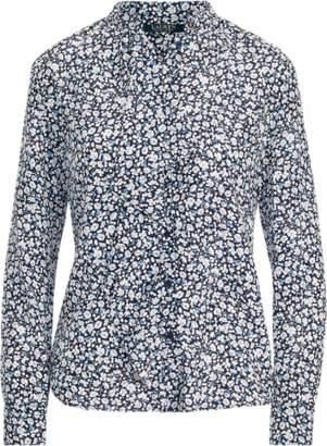 Ralph Lauren Ruffled Crepe Shirt