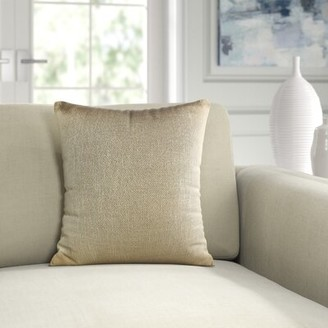 Ann Gish & The Art of Home Glaze Metallic Collection Pillow Cover and Insert Set & The Art of Home