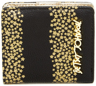 Betsey Johnson Mini Faux Leather Bifold Wallet $38 thestylecure.com