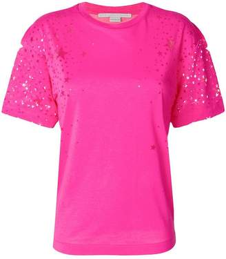Stella McCartney star pattern T-shirt