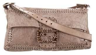 Fendi Distressed Crossbody Bag