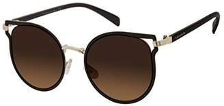 Elie Tahari Women's Th701 Brgld Round Sunglasses