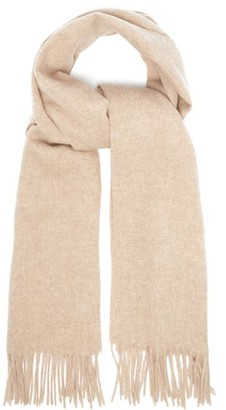 Acne Studios Canada Wool Scarf - Mens - Beige