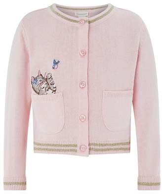 Monsoon Baby Girls' Pink 'Bundles' Cardigan