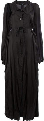 Ann Demeulemeester long lightweight coat