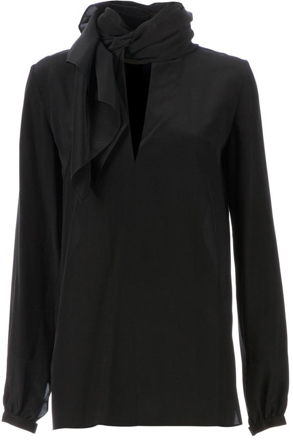 Sharon Wauchob scarf detail blouse