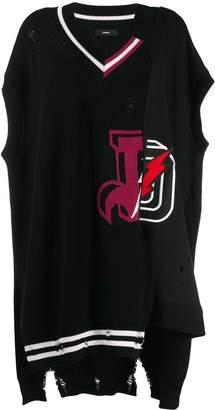 Diesel long short-sleeve pullover