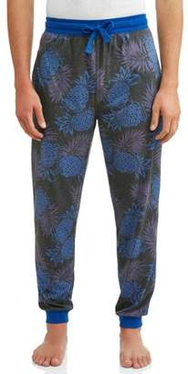 Unbranded TOP DRAWER SUBLIMATED MENS FASHION JOGGER PINEAPPLE PUNCH