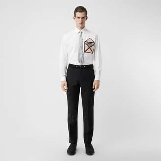 Burberry Silk Pocket Detail Cotton Shirt