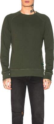 Nudie Jeans GREEN Samuel Sweatshirt in Green | FWRD