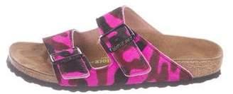 Birkenstock Ponyhair Buckle Sandals