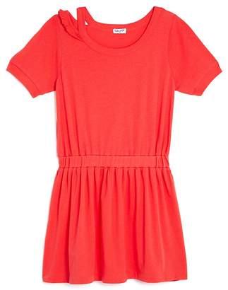 Splendid Girls' Distressed Shirt Dress - Big Kid