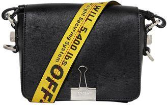 Binder Clip Leather Shoulder Bag $965 thestylecure.com