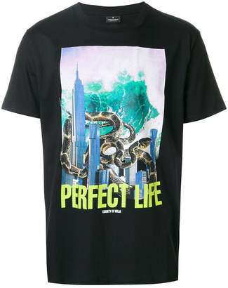 Marcelo Burlon County of Milan Kamal printed T-shirt