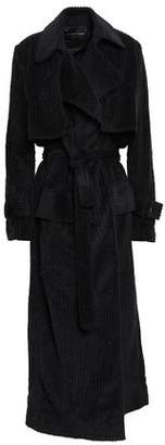 Michael Lo Sordo Ribbed Cotton-chenille Trench Coat