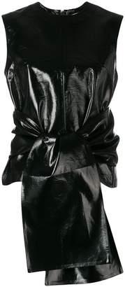 MSGM tie-front top