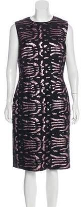 Versace Brocade Sheath Dress