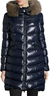 Moncler Aphia Hooded Puffer Jacket $2,050 thestylecure.com