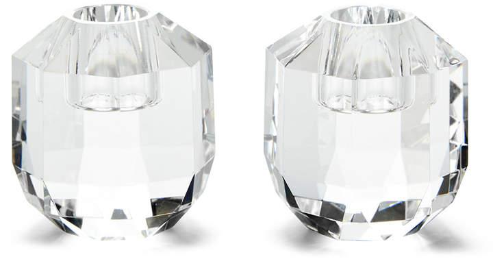 Leigh Crystal Candlesticks - Set of 2 - Small