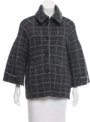 Christian Dior Patterned Wool & Angora Jacket
